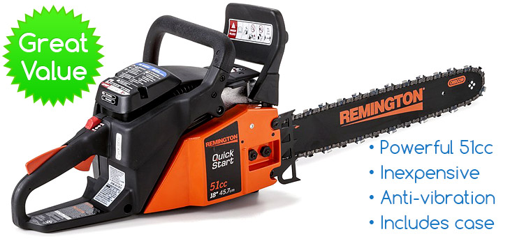 Remington-RM5118R-best-chainsaw-for-the-money-