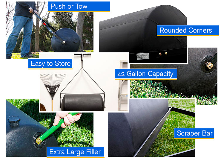 Overall an inexpensive and versatile lawn roller.