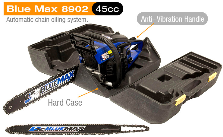 Blue-Max-gas-Chainsaw-8902-14-and-18-inch-combo-45cc