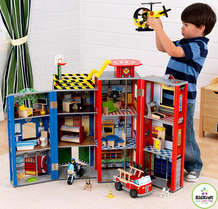 KidKraft-Everyday-Heroes-Play-Set-cool-toys-for-kids