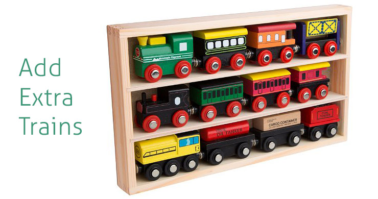 Wooden-Engines-&-Train-Cars-Collection