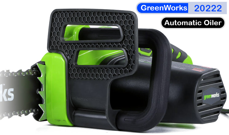 GreenWorks 20222 electric chainsaw.