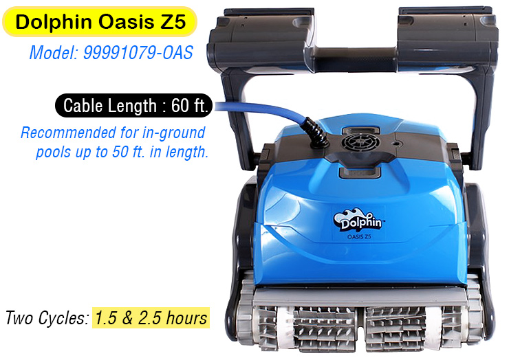 dolphin oasis z5. Best robotic Pool Cleaner.
