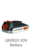 Black-&-Decker-LBXR20-20-Volt-battery-