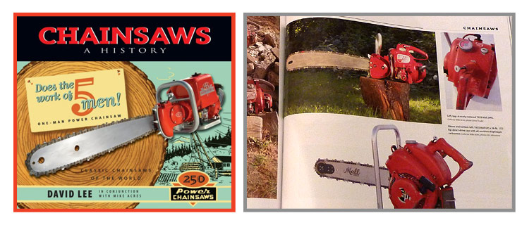 Chainsaw History Book