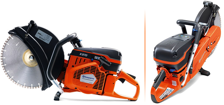Product images of the Husqvarna K 970