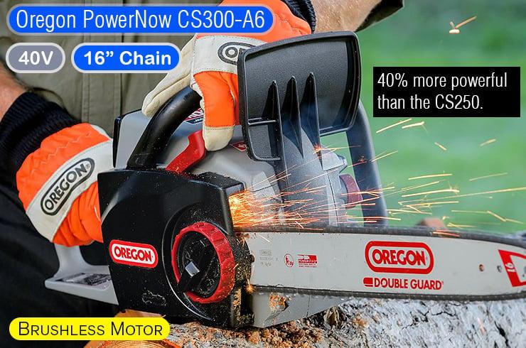 Oregon-PowerNow-CS300-A6-best-battery-chainsaw