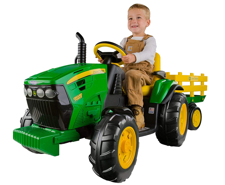 Peg Perego Ride On Tractors — Toys Your Child Will Love