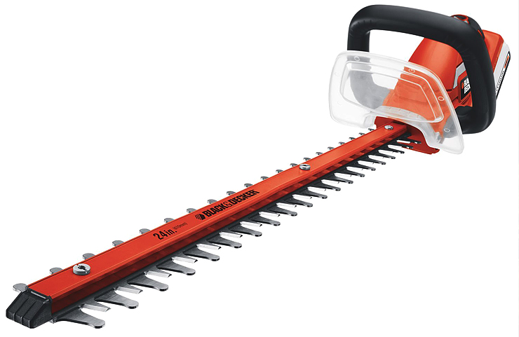 "The Black & Decker (LHT2436) 24"" 40V Cordless Hedge Trimmer"