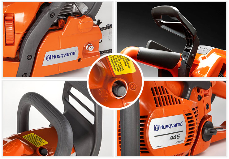 Husqvarna 445 Gas Chainsaw.