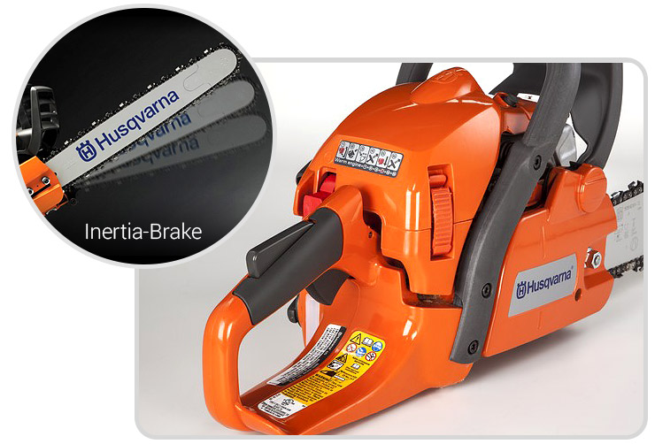 Husqvarna-445-best-gas-chainsaw-side-details