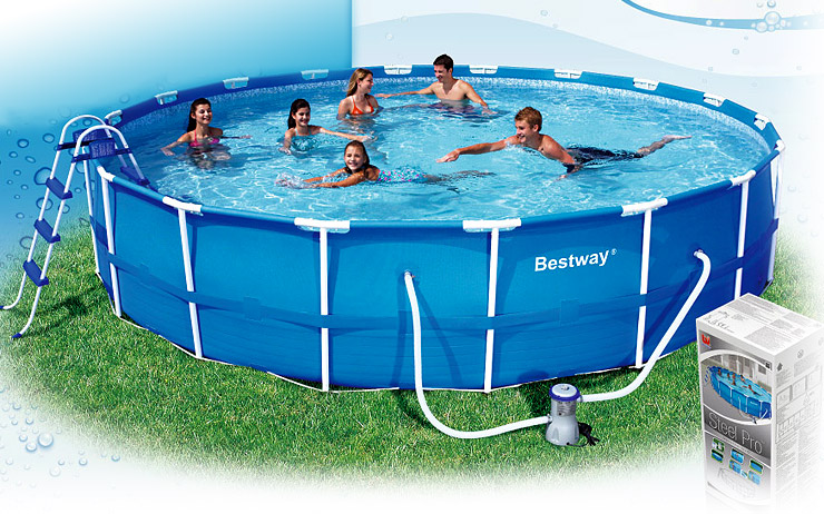 Intex 12x30 Metal Frame Pool Get Ready For Summer