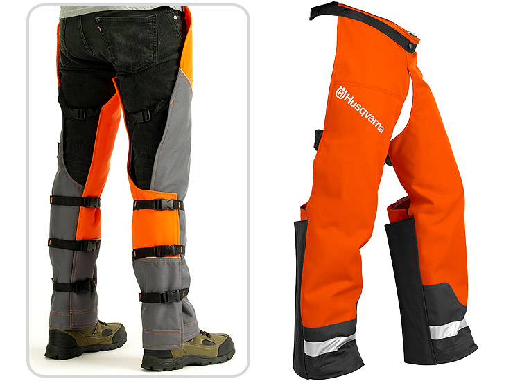 Husqvarna 587160704 Technical Apron chainsaw chaps.