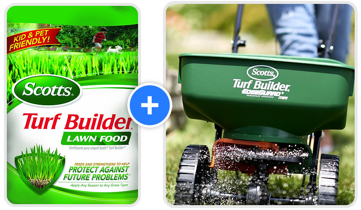 Scotts-Turf-Builder-Lawn-Food-and-spreader