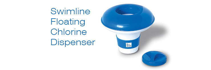 Swimline Floating Chlorine Dispenser.