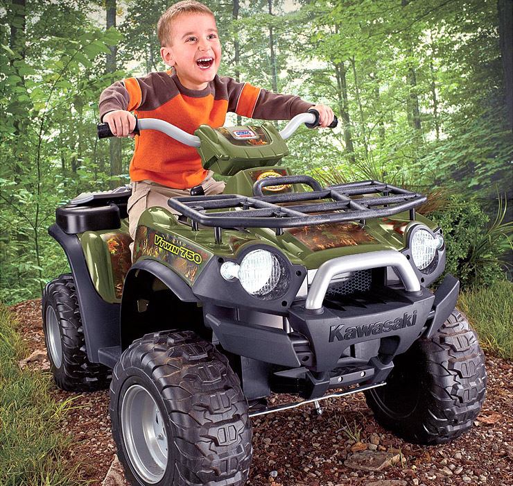 Fisher-Price-Power-Wheels-Kawasaki-Brute-Force-Camouflage-cool-toys-for-kids