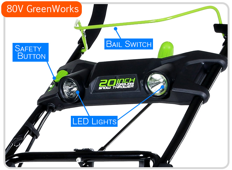 greenworks 80v snow blower