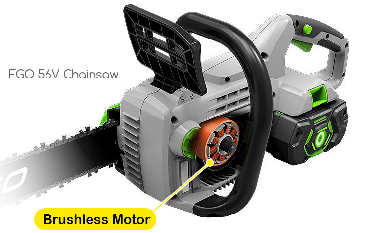 ego-56v-Chainsaw-what-is-a-brushless-motor