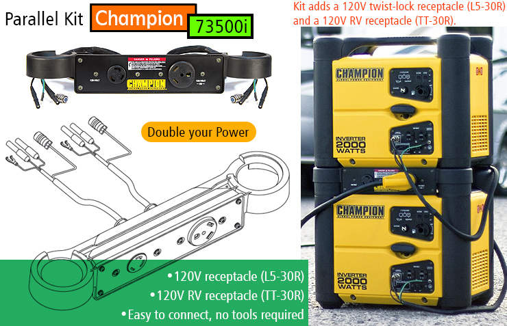 Champion Power Equipment 73536i, best inverter generator, quiet generator