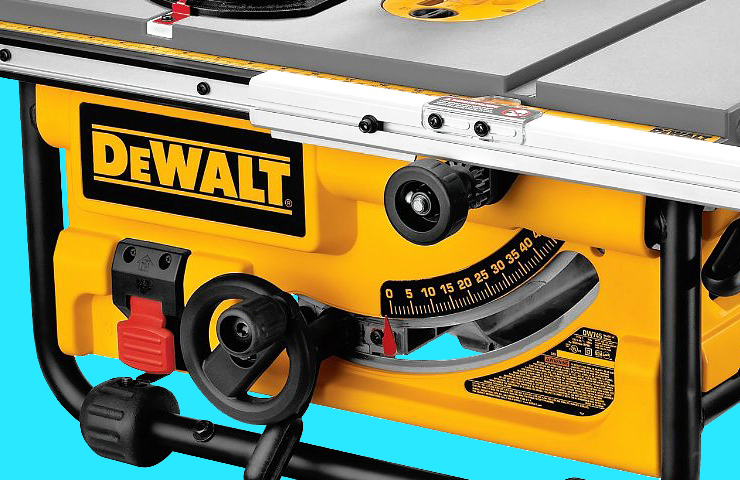 Dewalt DW745 Review | Best Portable Table Saw for the Money