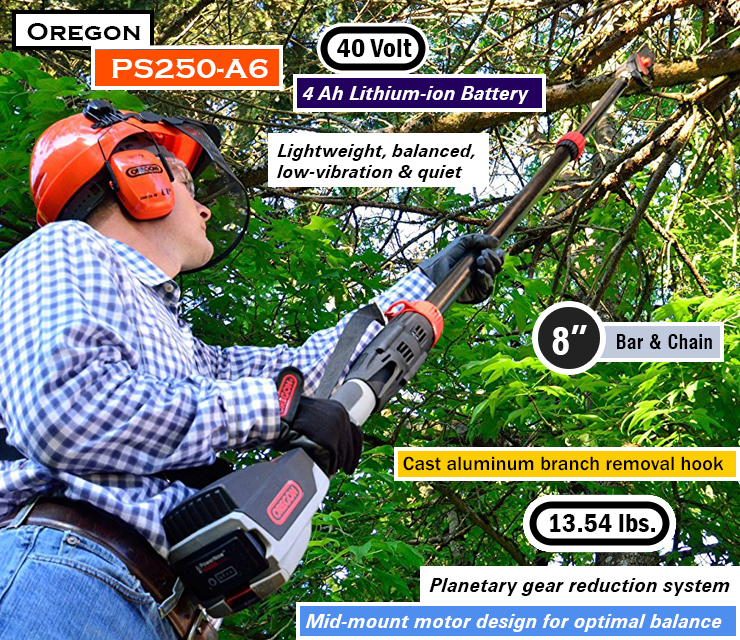 best pole saw, Chainsaw on a pole, best gas pole saw