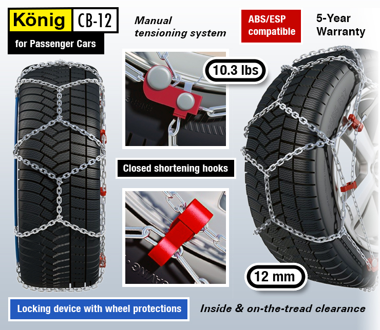 best tire chains for snow.