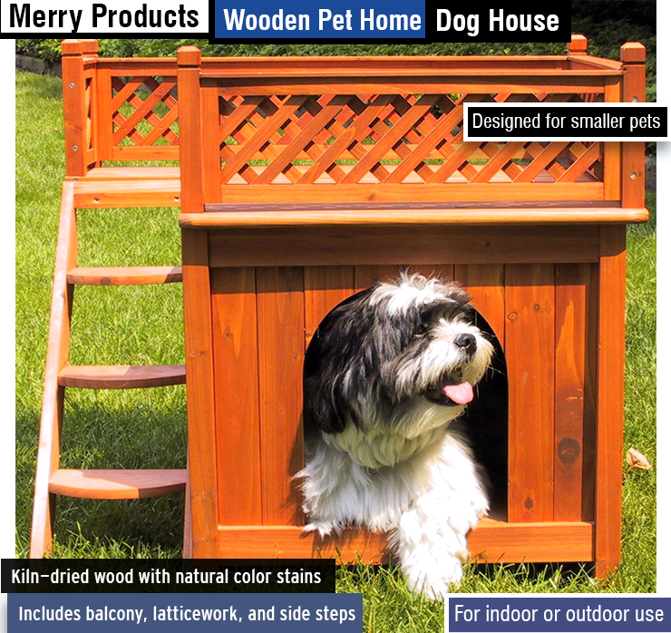 Best dog house.