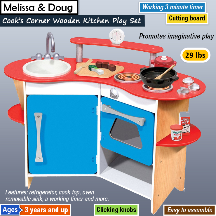 Best Wooden Play Kitchen Sets