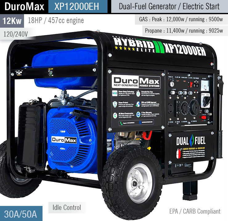 buy DuroMax XP12000EH