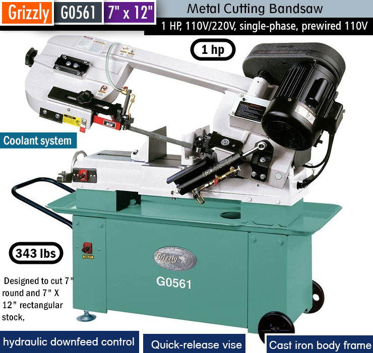 Best bandsaw for the money. horizontal bandsaw.