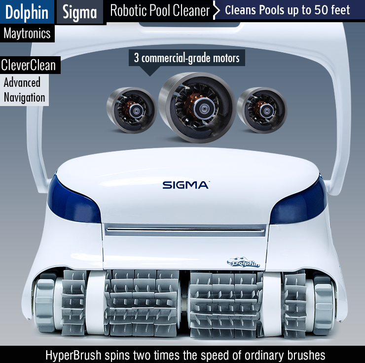 Dolphin Sigma Review : Best Robotic Pool Cleaner 2019