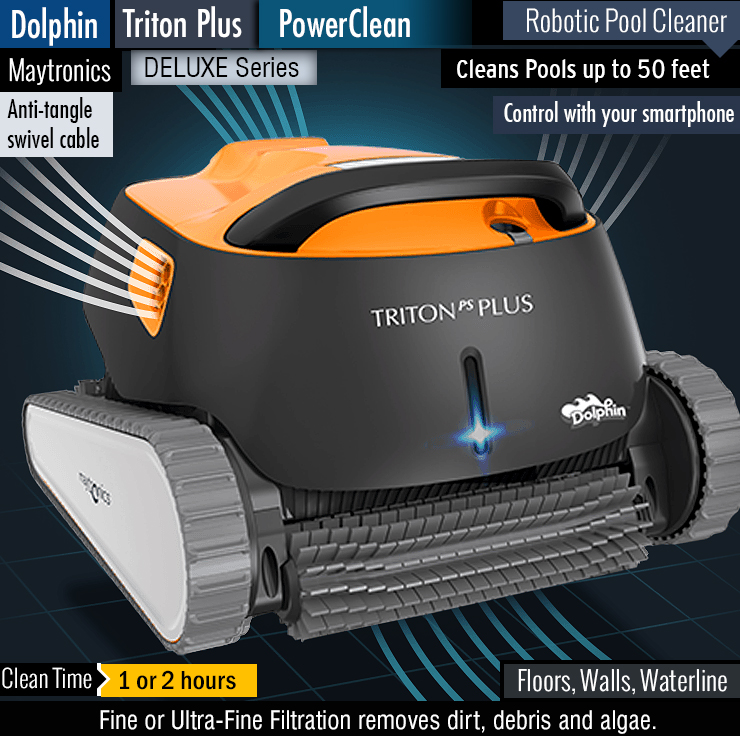 Best robotic pool cleaner for the money.