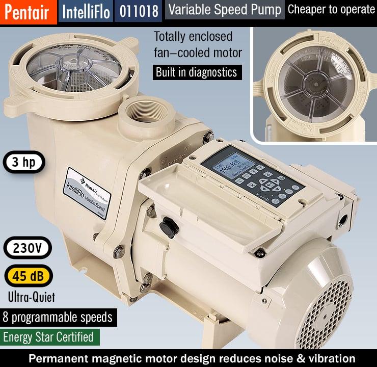 Pentair 011018 IntelliFlo : best variable speed pool pump