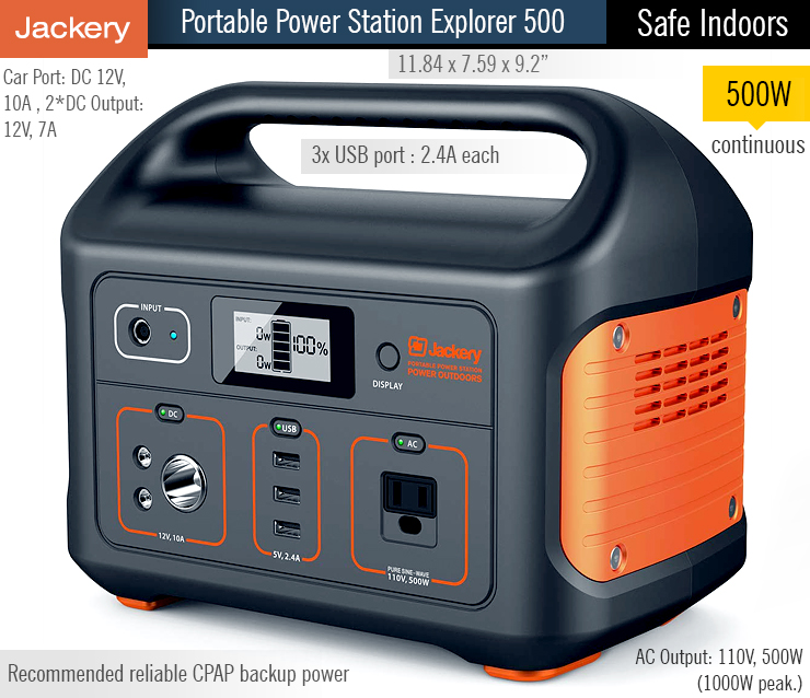 buy Jackery Portable Power Station Explorer 500