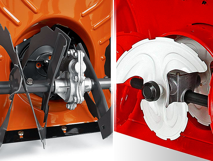 2-stage vs 3-stage snow blower.